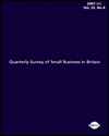 Quarterly survey of small business in Britain 2007 Q4