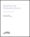 Quelling the pensions storm: lessons from the past