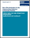 Race discrimination in the construction industry: a thematic review