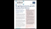 Re-igniting economic growth: lessons from history