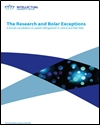 The research and Bolar exceptions: a formal consultation on patent infringement in clinical and field trials