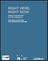 Right here right now: taking co-production into the mainstream