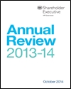 Shareholder Executive annual review 2013-14