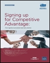 Signing up for competitive advantage: how signature processes beat best practice
