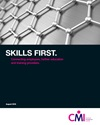 Skills first: connecting employers, further education and training providers