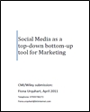 Social media as a top-down bottom-up tool for marketing