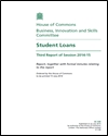 Student loans: third report of session 2014-15