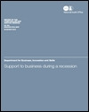 Support to business during a recession: executive summary: summary