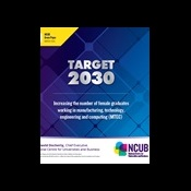 Target 2030: Increasing the number of female graduates working in manufacturing, technology, engineering and computing (MTEC)