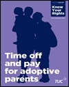 Time off and pay for adoptive parents