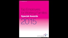 Top employers for working families: special awards 2015