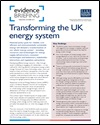Transforming the UK energy system