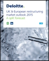 UK and European restructuring market outlook 2015: a split forecast