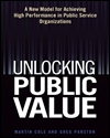 Unlocking public value