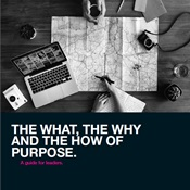 Image of The what, the why and the how of purpose cover