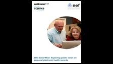 Who sees what? Exploring public views on personal electronic health records