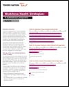 Workforce health strategies: a multinational perspective