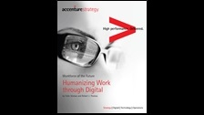 Workforce of the future: humanizing work through digital