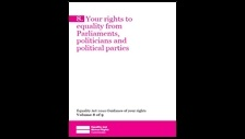 Your rights to equality from Parliaments, politicians and political parties