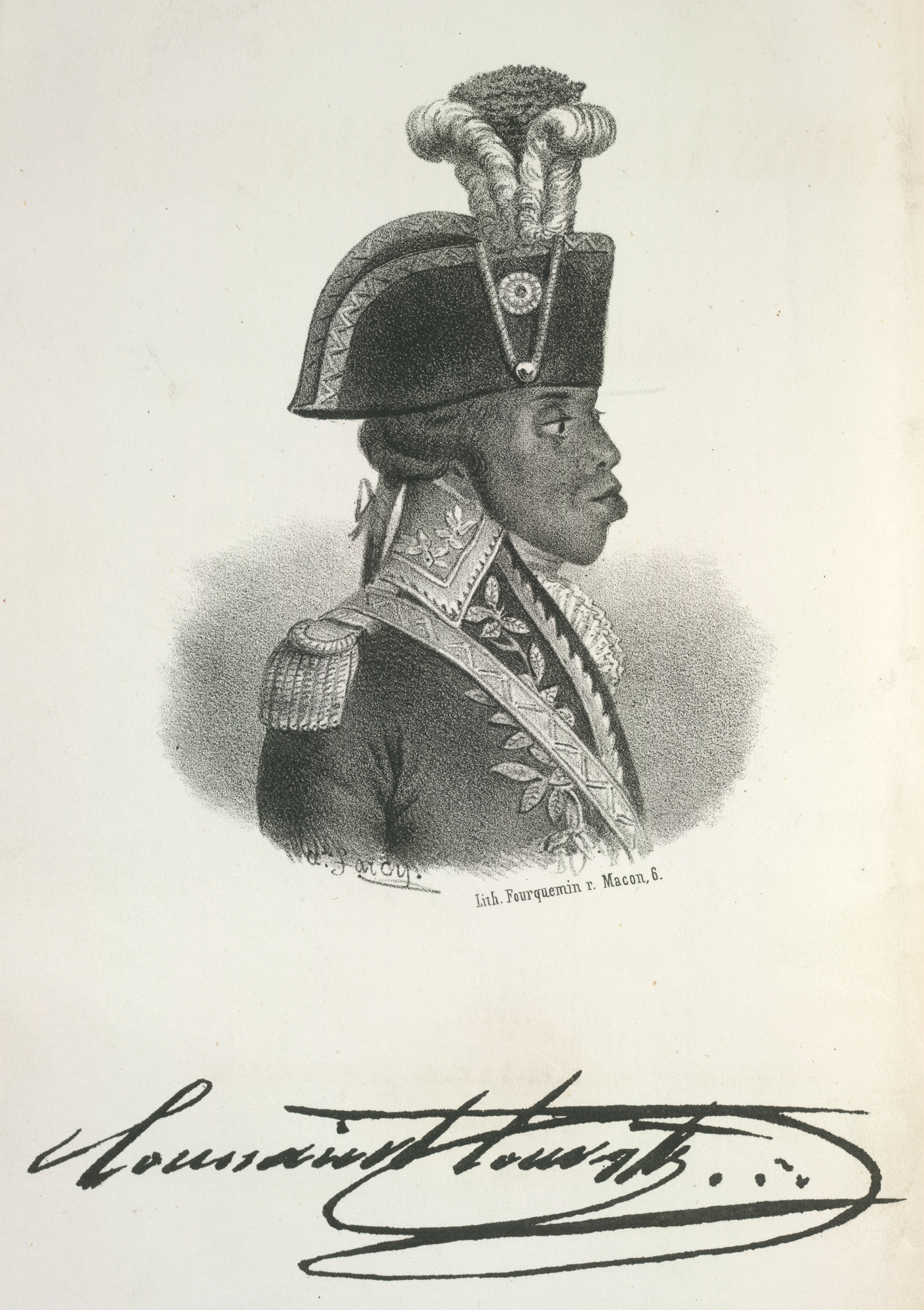 Portrait of Toussaint Louverture