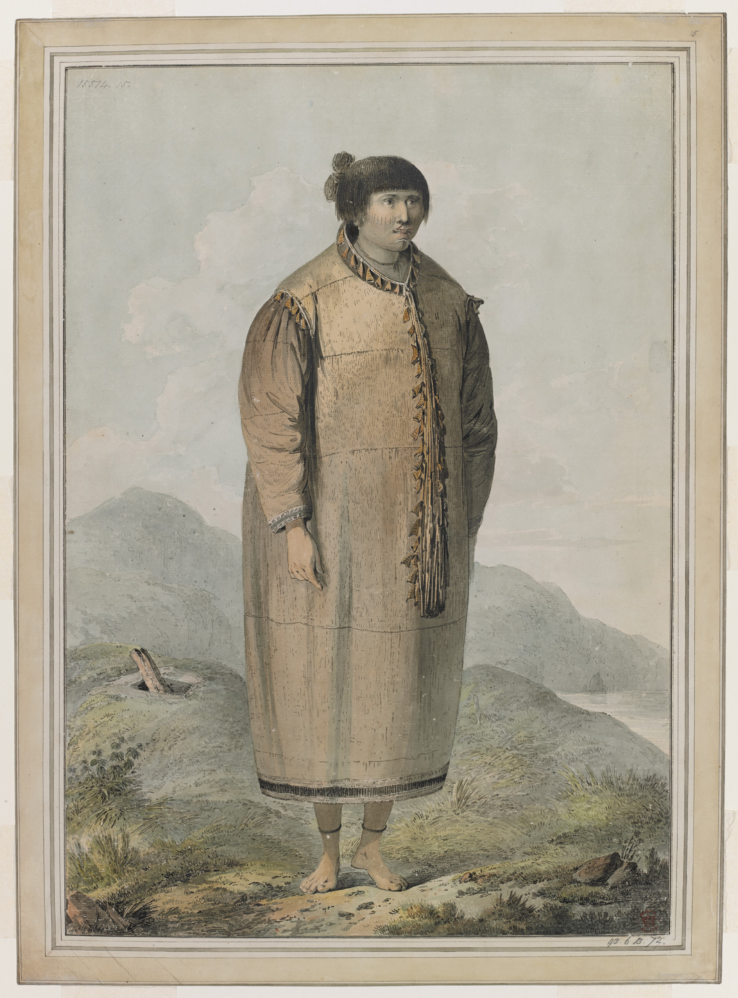 Portrait of a woman from Unalaska