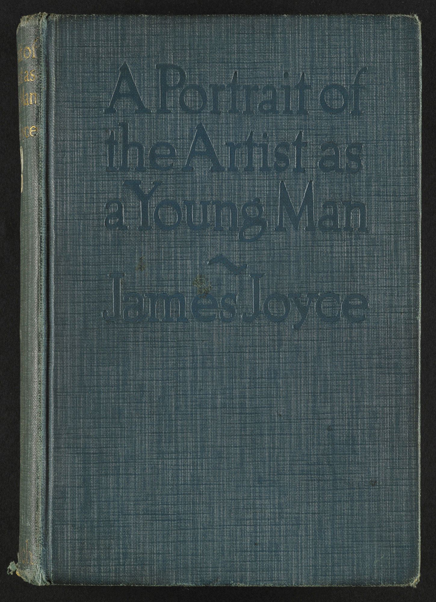 A Portrait of the Artist as a Young Man by James Joyce, 1916 US edition