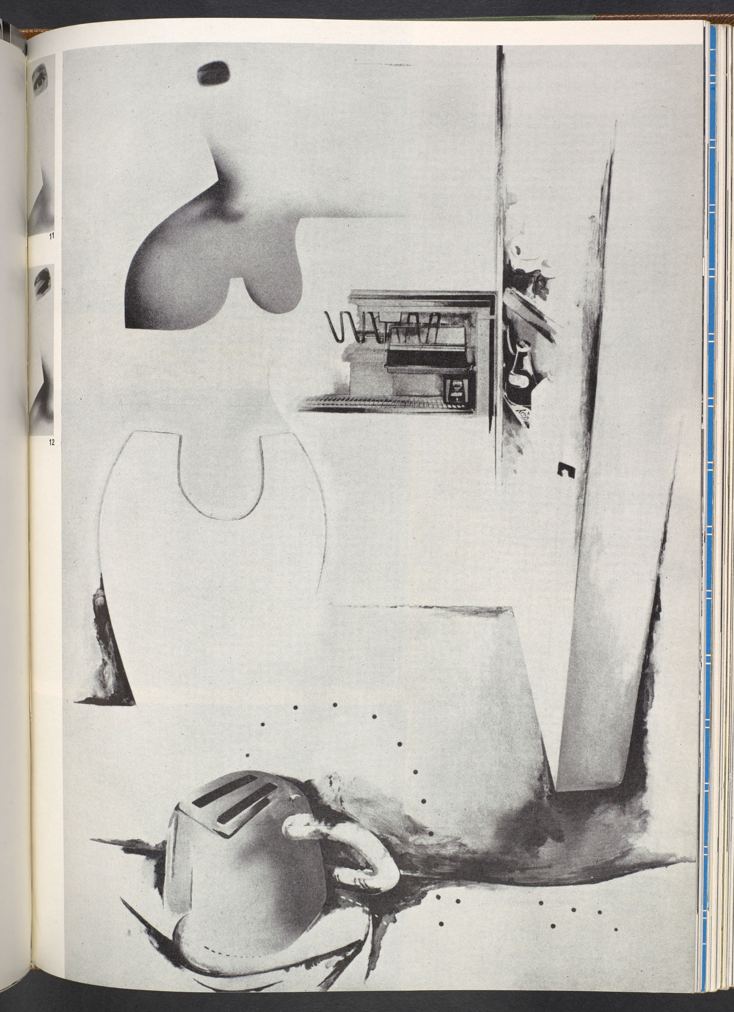 """'An exposition of """"$he""""' by Richard Hamilton, from Architectural Design"""