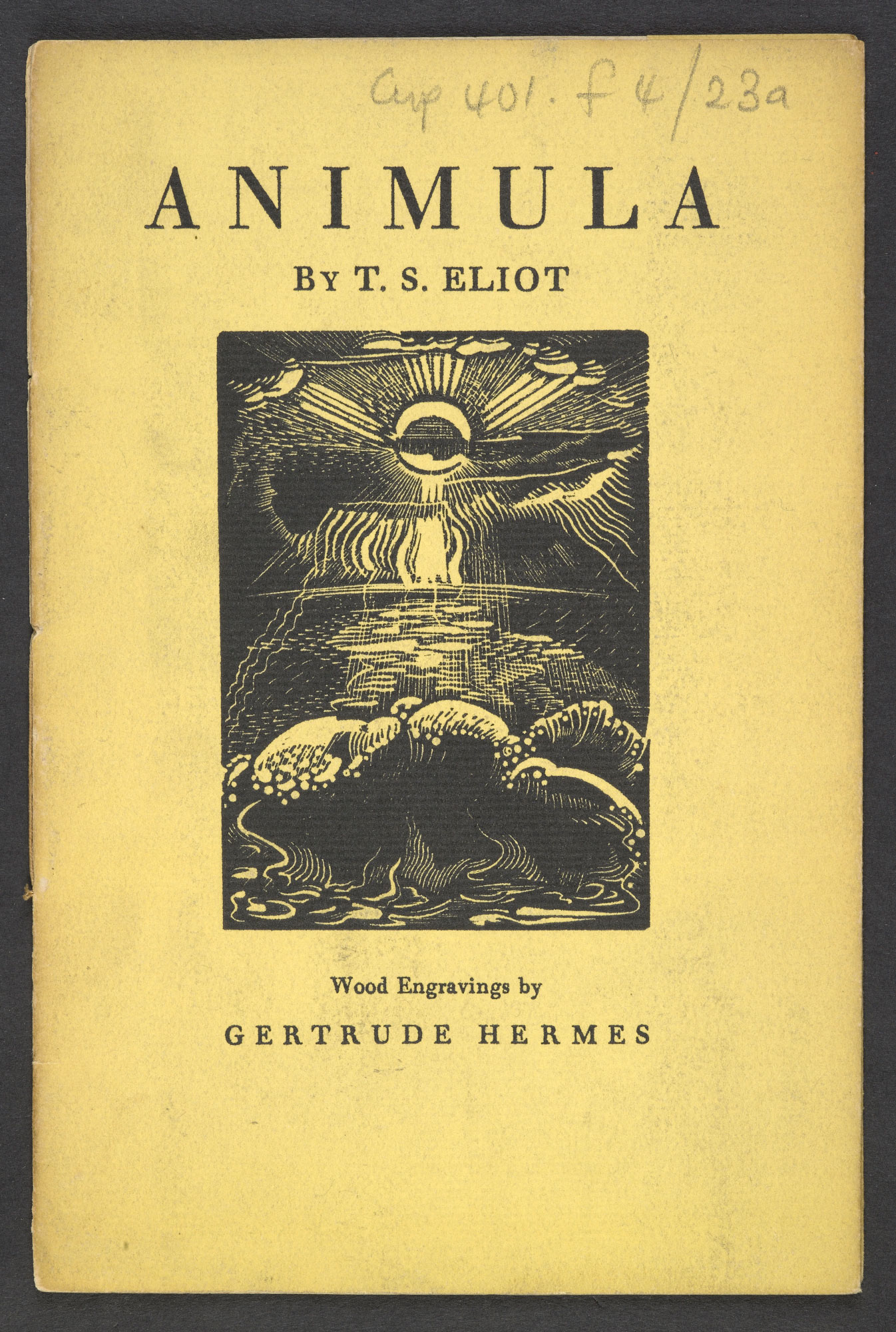 'Animula' by T S Eliot illustrated by Gertrude Hermes