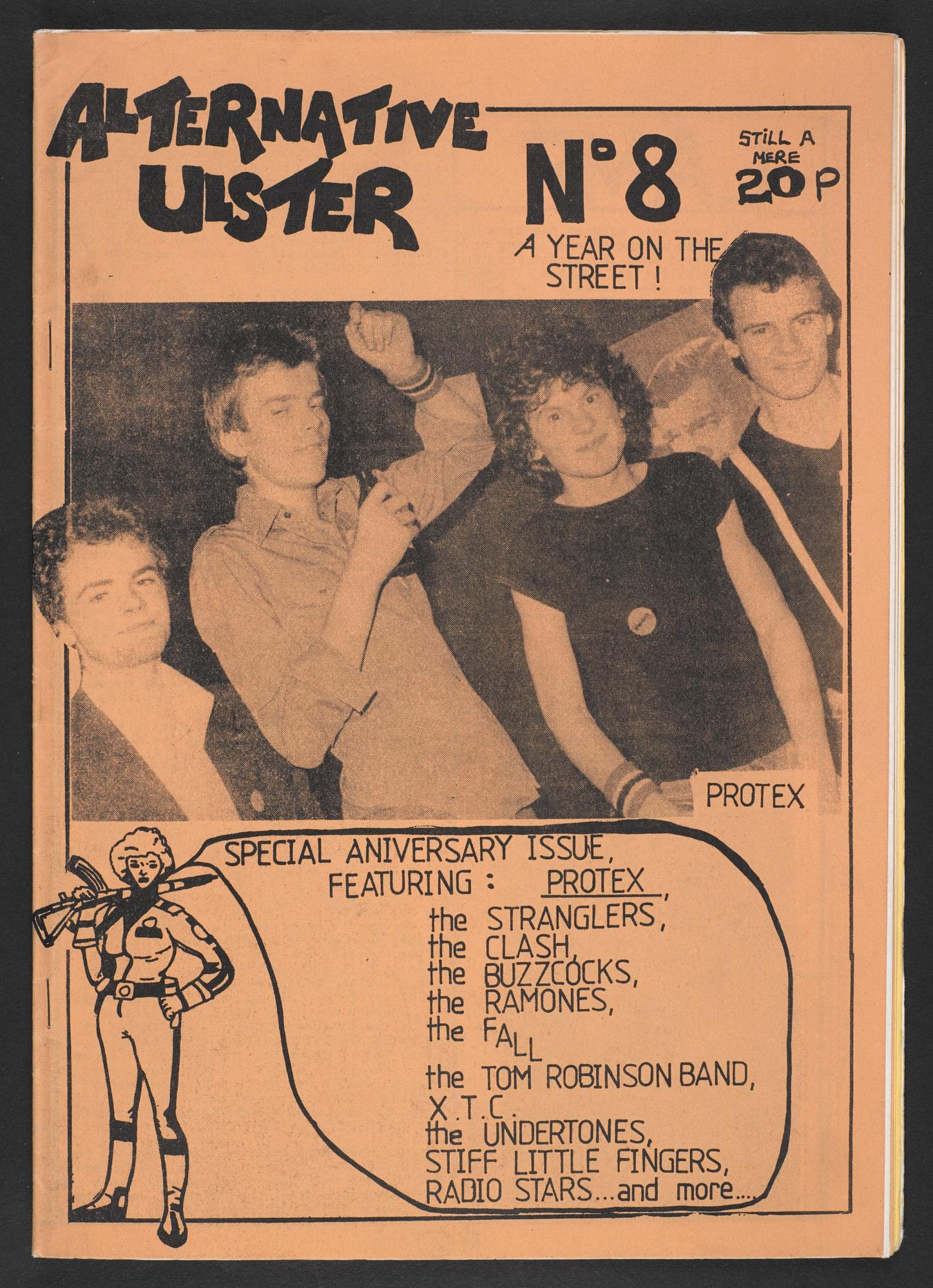 Alternative Ulster fanzine 1977