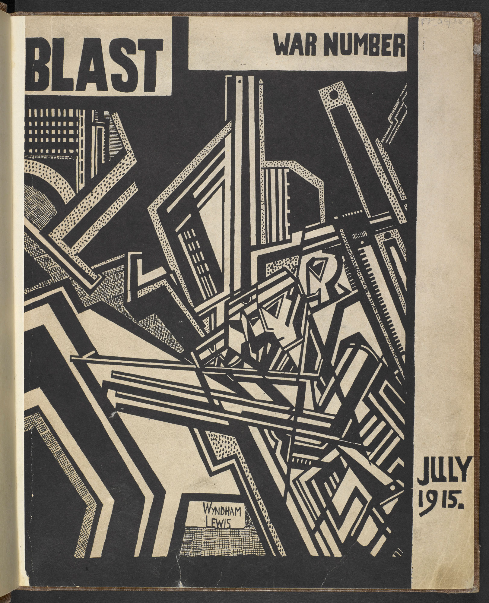 BLAST no. 2, the Vorticist magazine