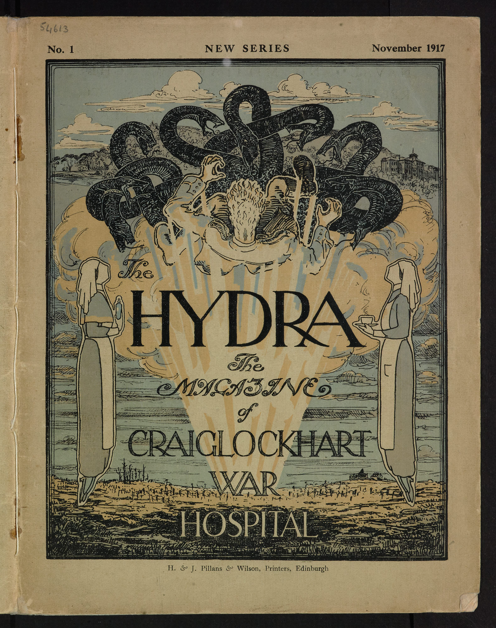 Front cover of The Hydra, November 1917
