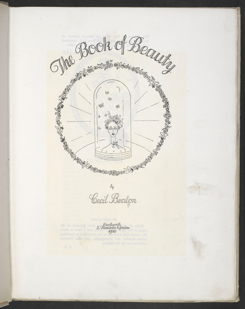 Cecil Beaton's Book of Beauty