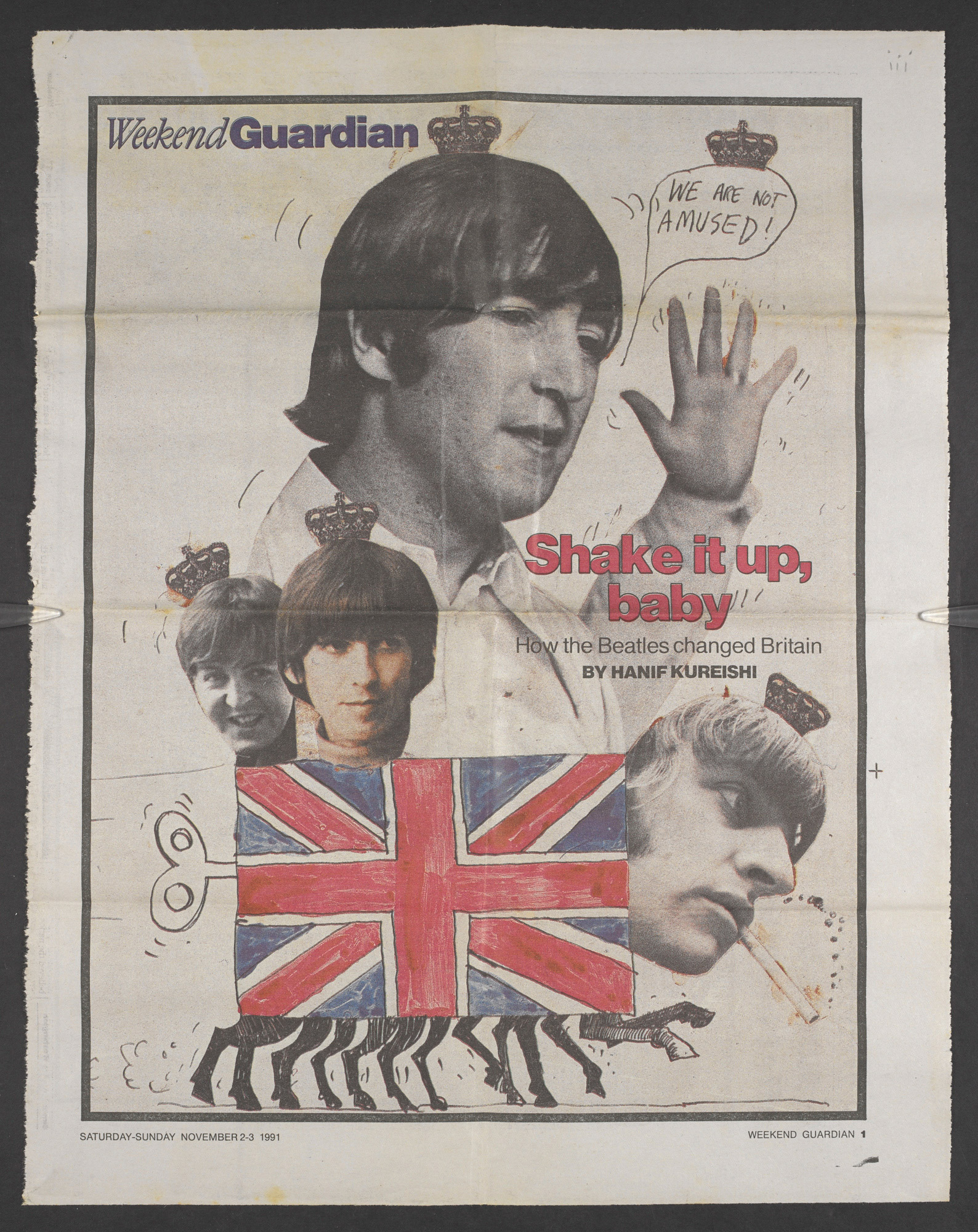 How the Beatles changed Britain - The British Library