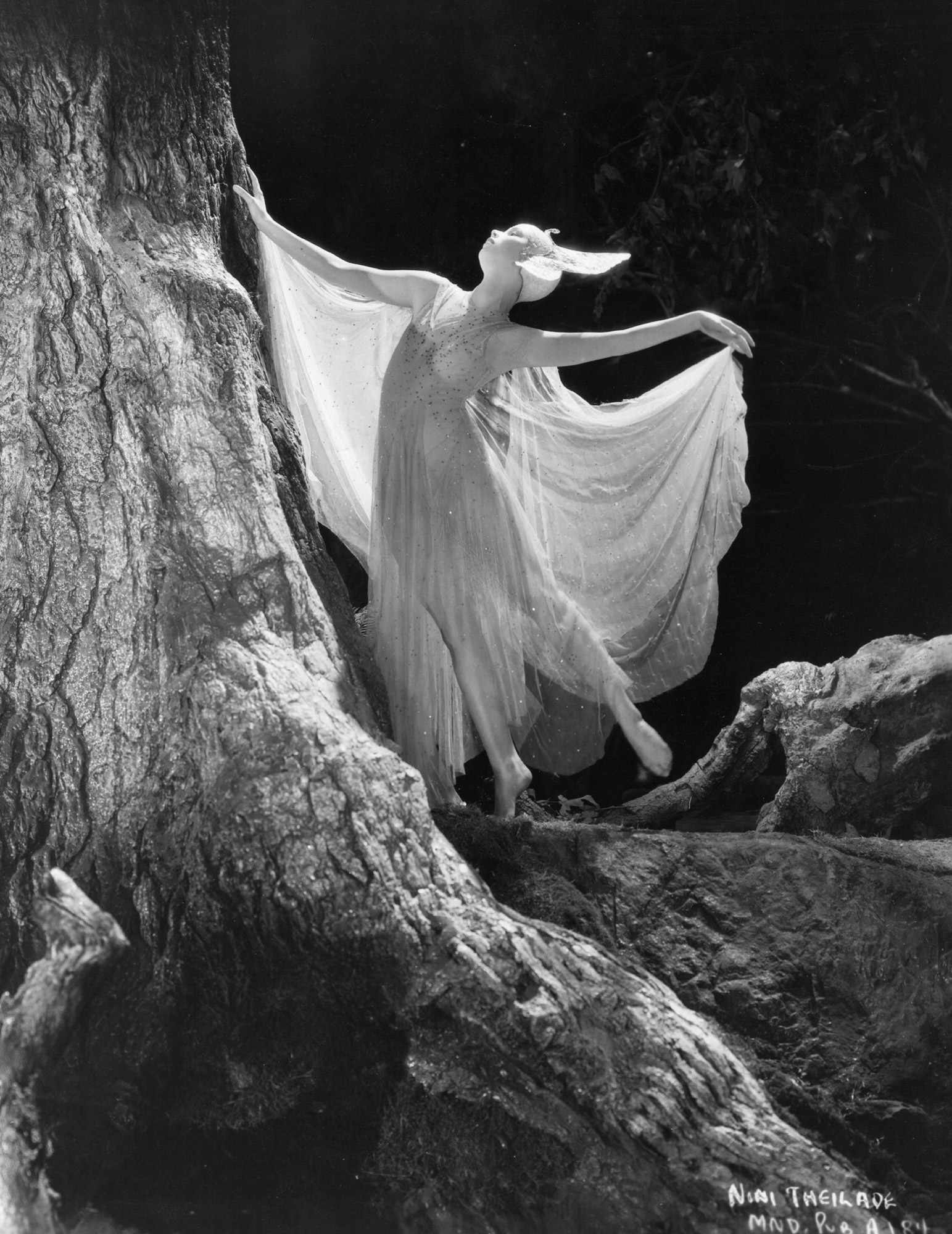 Photographs of Max Reinhardt's Hollywood production of A Midsummer Night's Dream, 1935