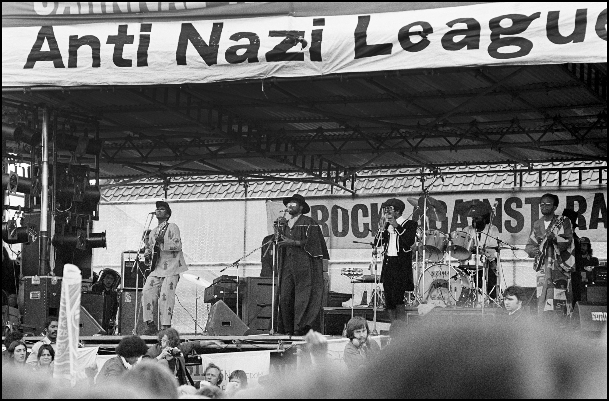 Photograph of the Rock Against Racism concert, 1978