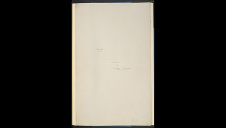 'Hankow', W H Auden's early drafts for Journey to a War