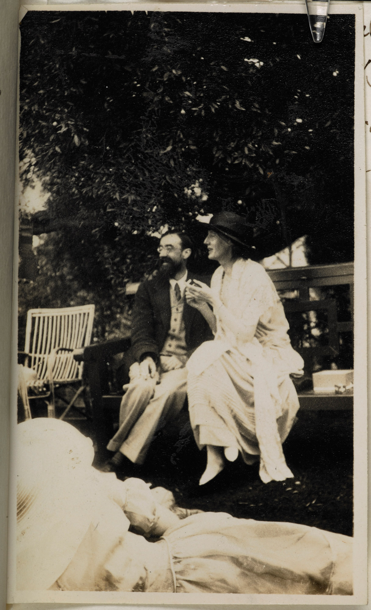 Journal of Lady Ottoline Morrell, June 1923, with photographs and accounts of Virginia Woolf
