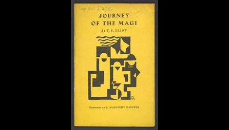 'Journey of the Magi' by T S Eliot illustrated by E McKnight Kauffer