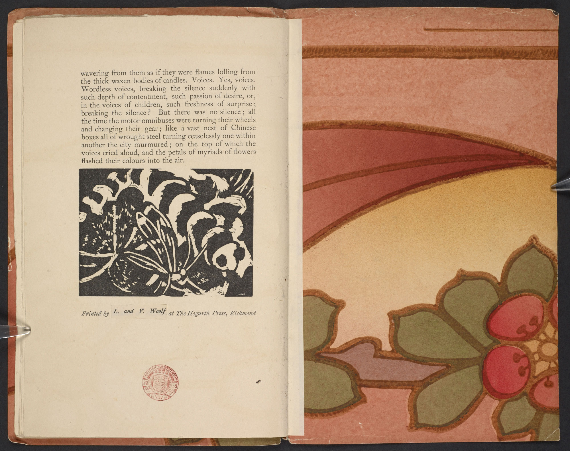 Kew Gardens by Virginia Woolf, 1919
