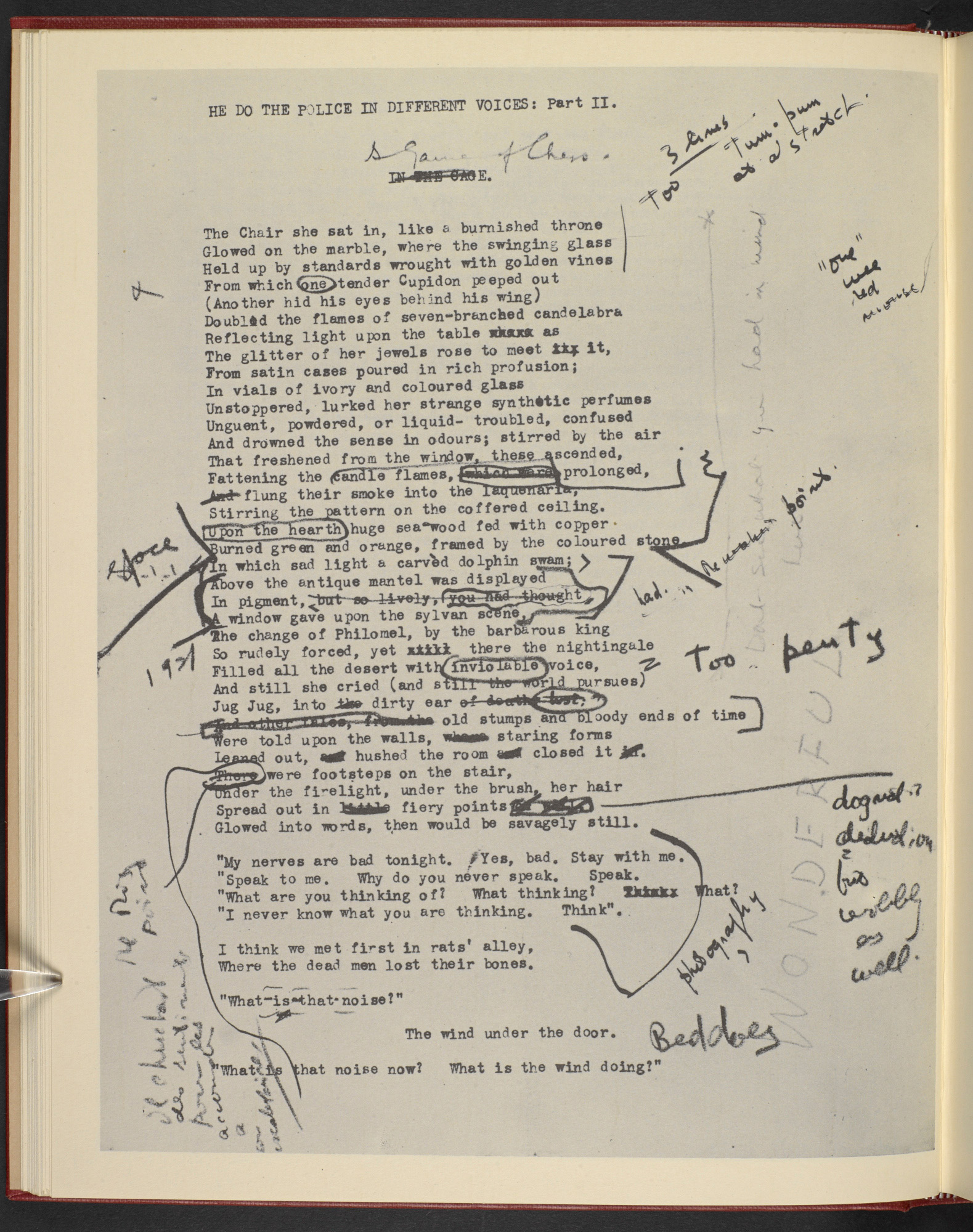 Ezra Pound And The Drafts Of The Waste Land The British