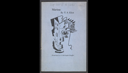 'Marina' by T S Eliot illustrated by E McKnight Kauffer