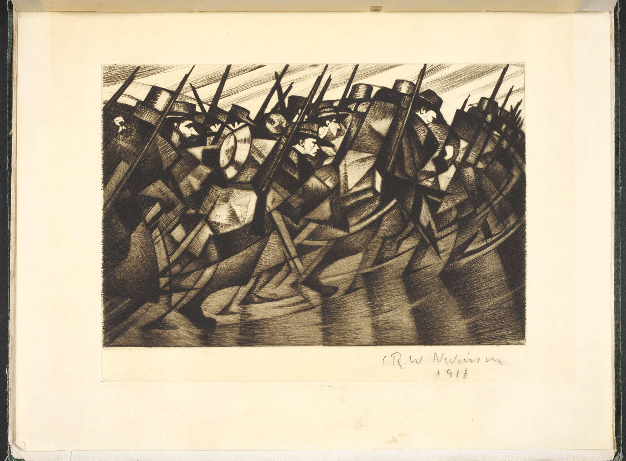 Modern War Paintings by C R W Nevinson