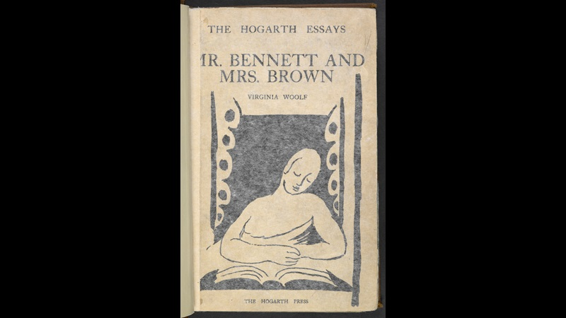 'Mr. Bennett and Mrs. Brown' by Virginia Woolf