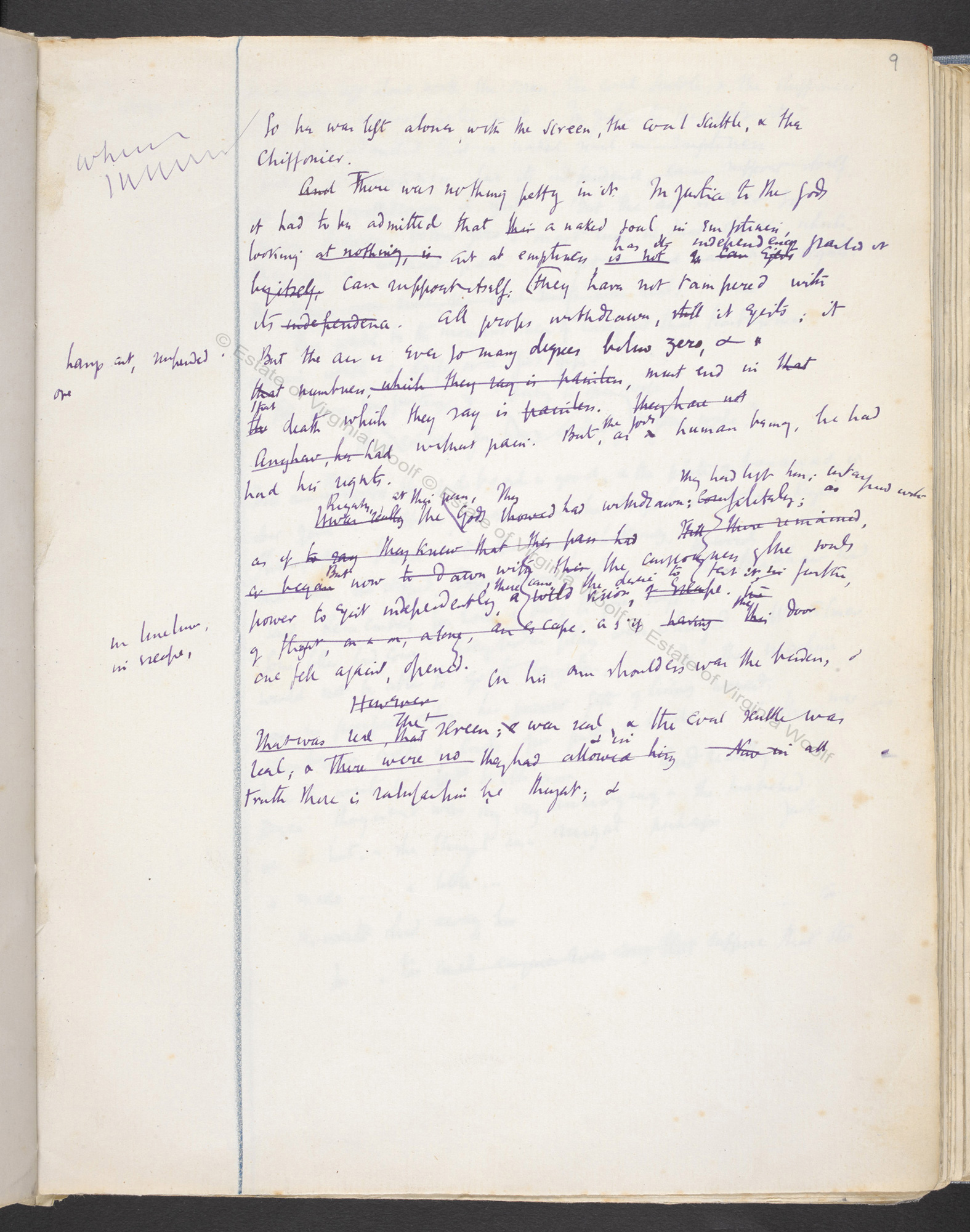 Notebook drafts of Virginia Woolf's Mrs Dalloway (Volume III)