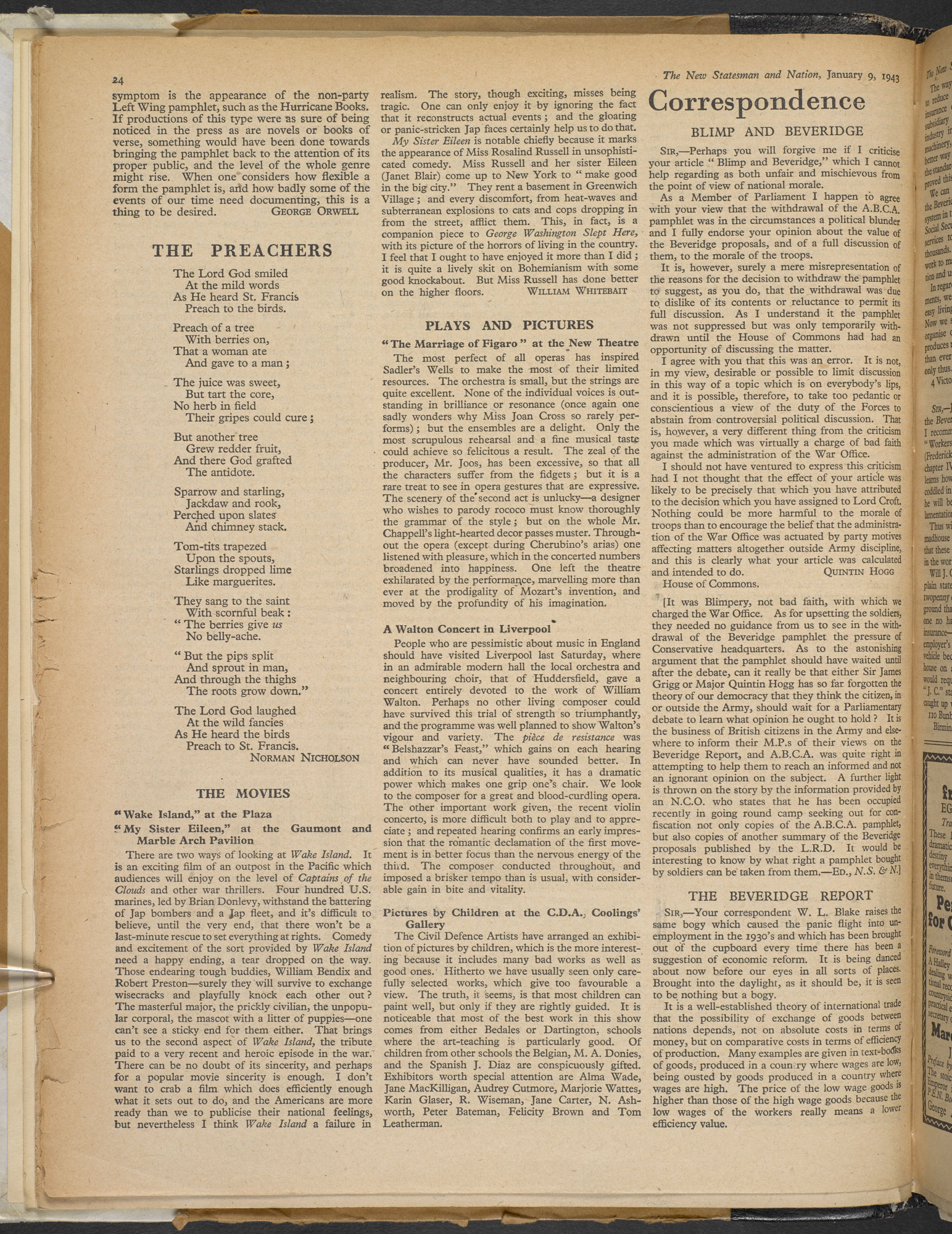 British Library's facsimile of Orwell's 'Pamphlet Literature' page 2