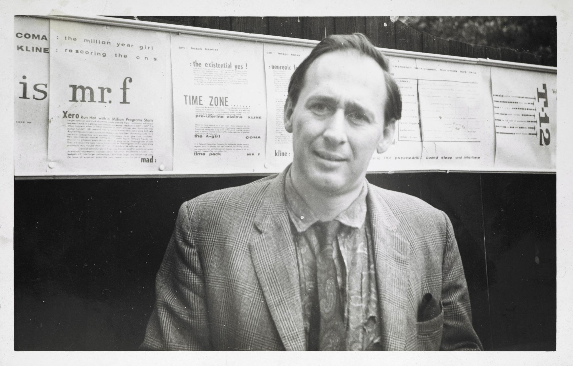 Photographs of J G Ballard, 1950-60