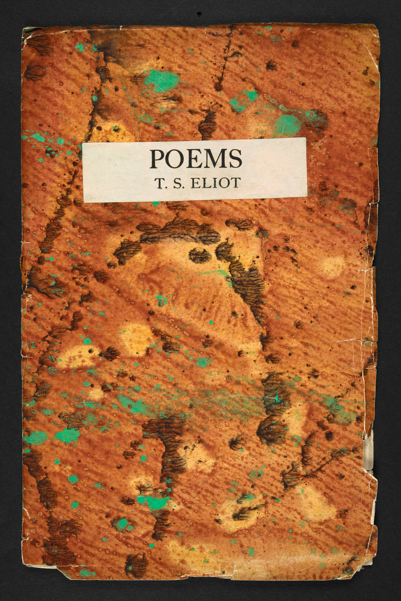 Poems by T S Eliot, published by the Hogarth Press