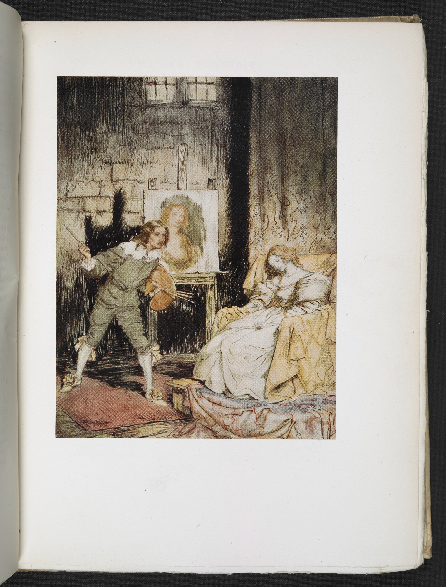 Poe's Tales of Mystery & Imagination, illustrated by Arthur Rackham