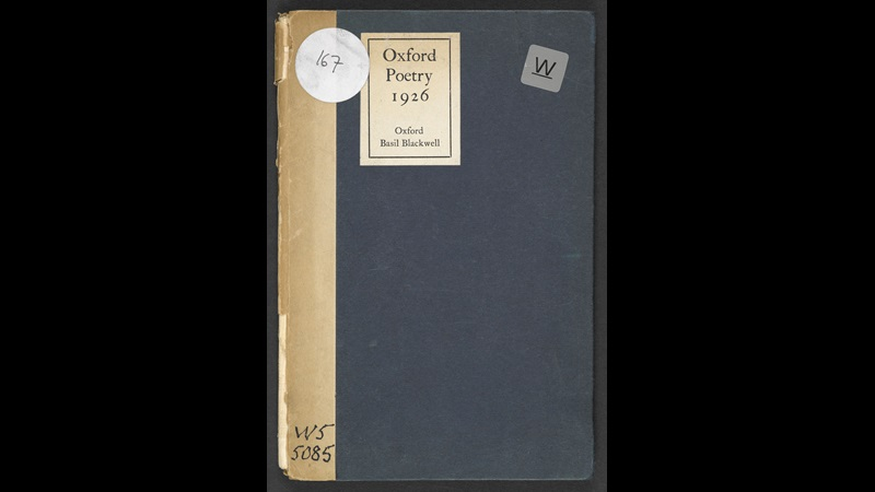 Preface to Oxford Poetry 1926 by W H Auden