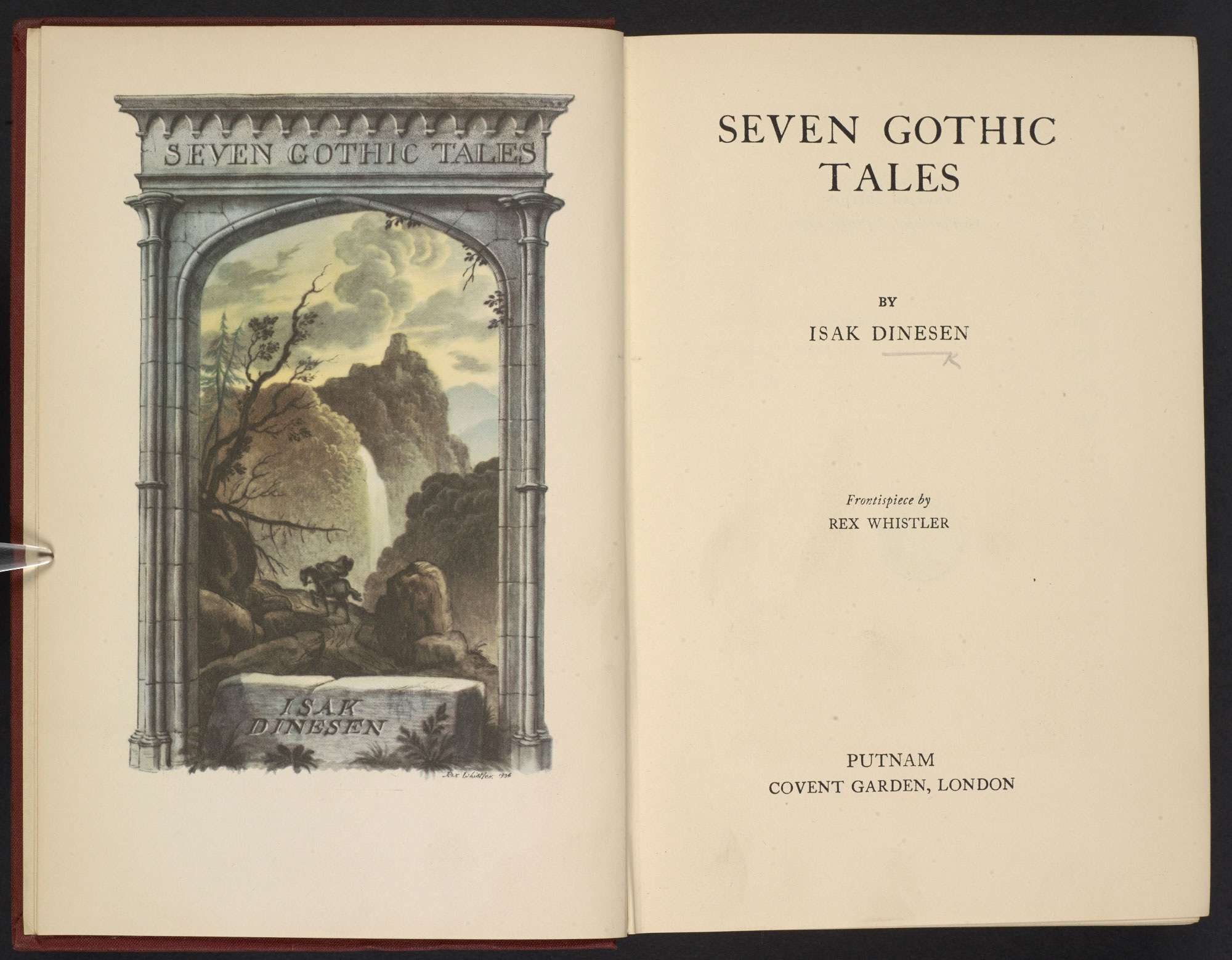 seven gothic tales by isak dinesen the british library